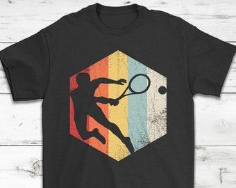 2609c432 Tennis Retro Distressed Style T-Shirt Gift || Tennis Lovers Shirt || Tennis  Players Shirt || Tennis Training Shirt || Unisex Tee