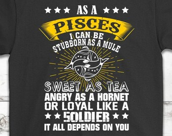 Pisces shirt | Etsy