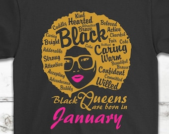 2d1c7f0ba January Birthday T-Shirt: