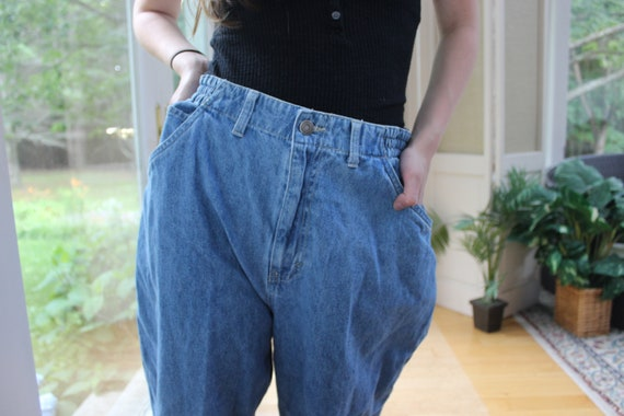 Vintage 1990's Faded Glory Mom Jeans, 90's Denim … - image 5