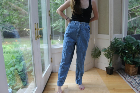 Vintage 1990's Faded Glory Mom Jeans, 90's Denim … - image 1