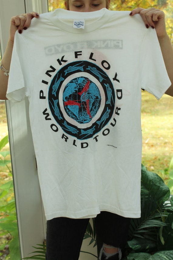 Original Rare Vintage 1980s Pink Floyd Shirt, Vint