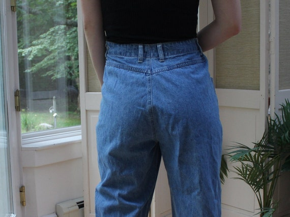 Vintage 1990's Faded Glory Mom Jeans, 90's Denim … - image 7