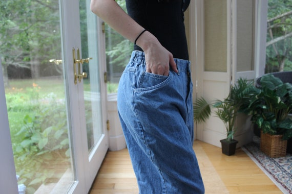 Vintage 1990's Faded Glory Mom Jeans, 90's Denim … - image 6