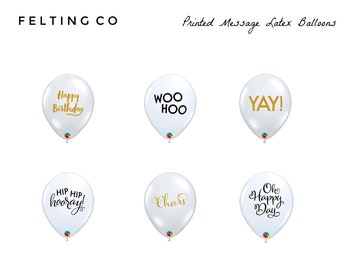 Message balloons   Etsy