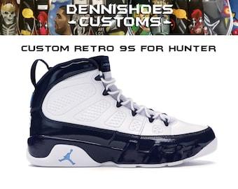 new style 743f6 c1e98 Custom Jordan Retro 9s for Hunter