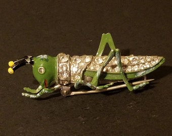 Grasshopper Earring Cabochon Set