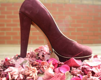c3af6417415 Maroon wedding shoes