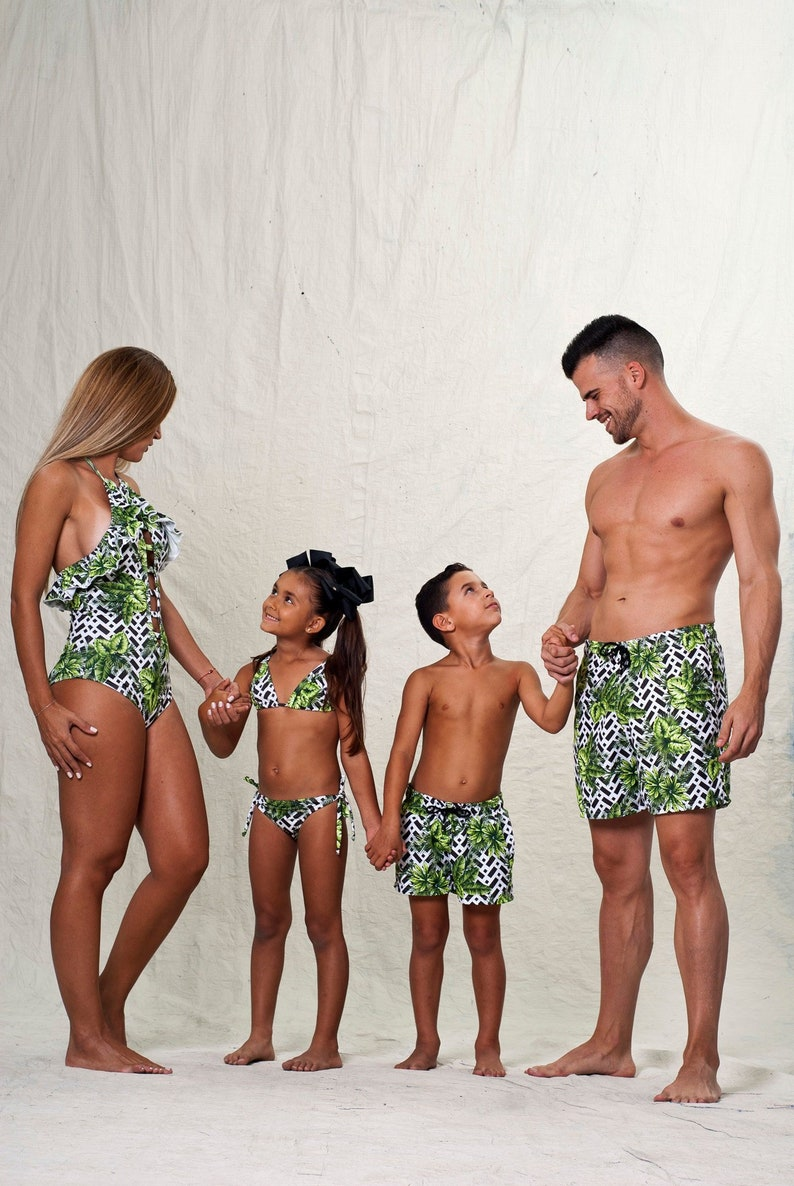 a00ffa80c0 Family matching Swimsuits sexy Swimsuit family matching