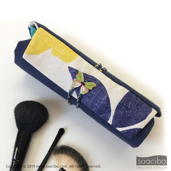 2f2cde7399 Makeup brush roll travel make up brush case makeup brush
