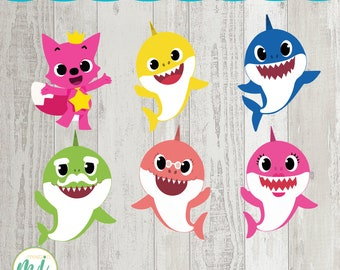 Baby Shark Printable Etsy