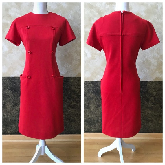 Vintage 1960s Mod Mini Dress
