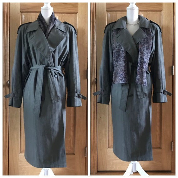 Vintage 1980's London Fog 3M Thinsulate Lined Dark