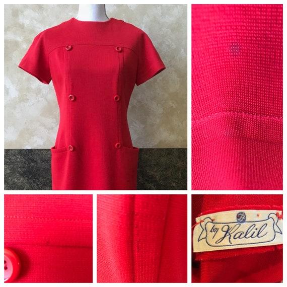 Vintage 1960s Mod Mini Dress - image 7