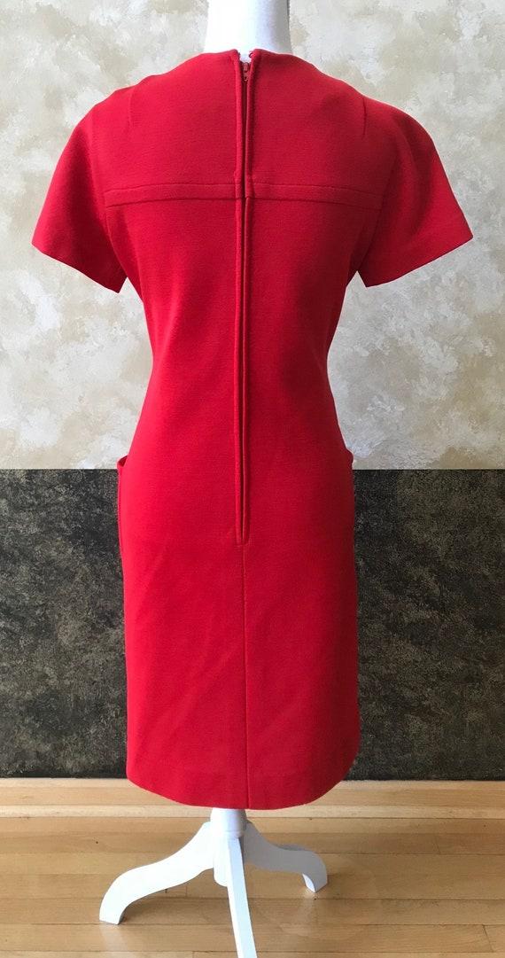 Vintage 1960s Mod Mini Dress - image 6