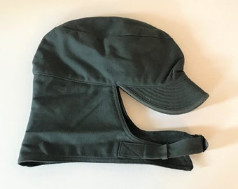 f45d46568 Vintage 1941 Civilian Conservation Corps Cap Hat Wool Lined