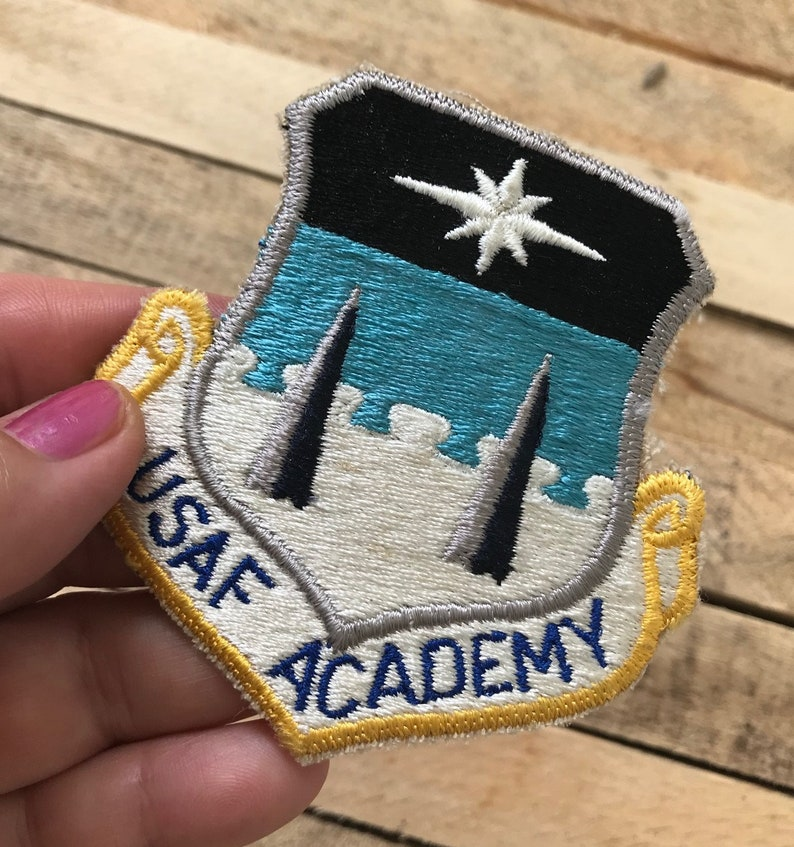 Vintage USAF Air Force Academy Patch US Military Iron or Sew on NEW