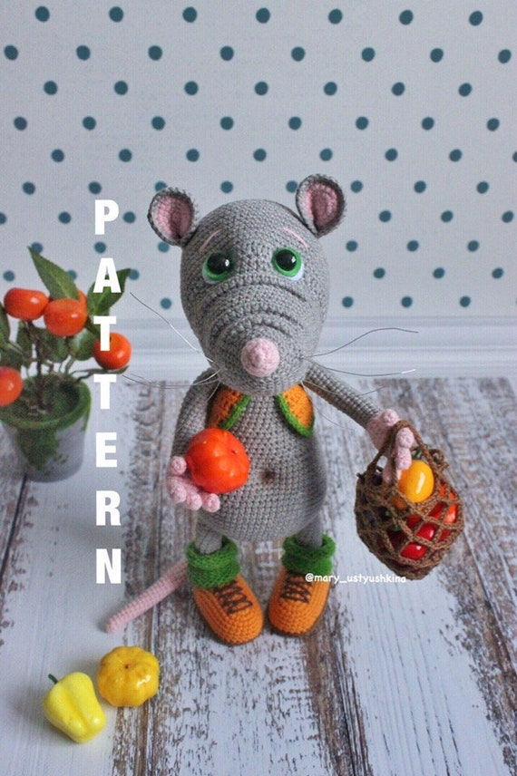 Mickey Mouse Amigurumi pattern Disney Crochet pattern | Etsy | 856x570