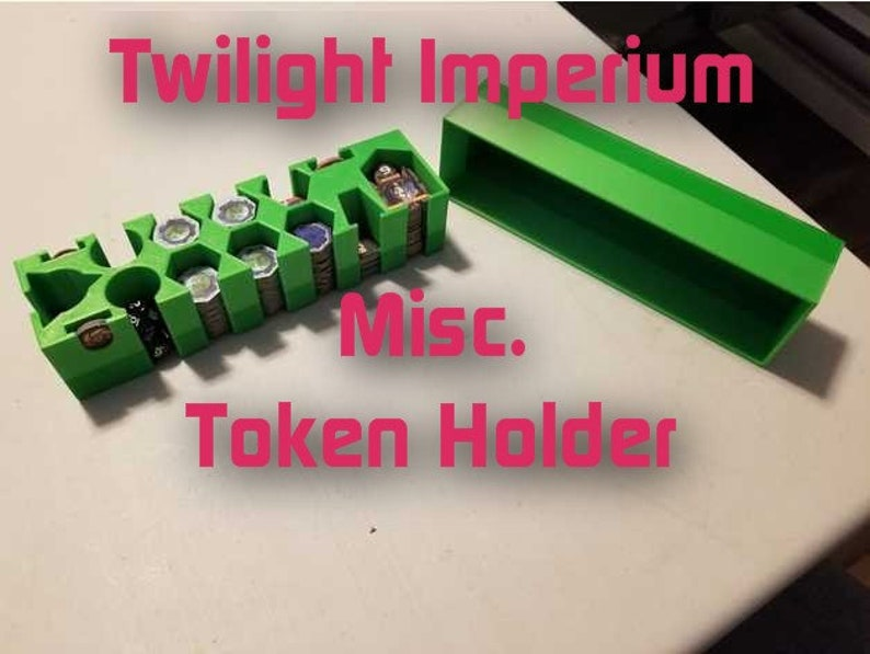 Twilight Imperium Holder for Miscellaneous Tokens! Piece Storage for  Boardgames like Galactic Emperor, Nexus Ops, Space Empires, Throneworld