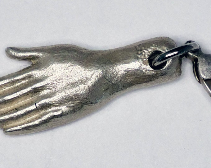 Milagros hand charm