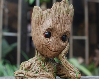 02b57baa860bd Baby Groot Plant, Flowerpot or Stationary Holder (Guardians of the Galaxy)