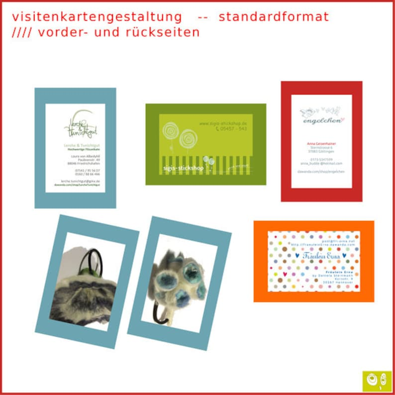 250 Visitenkarten Design Design And Print