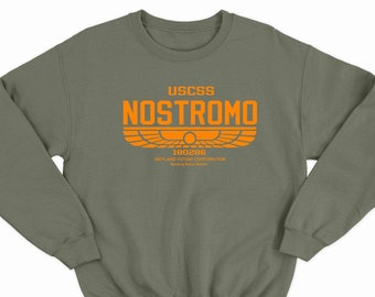 59a336f07 Nostromo Top Alien Inspired USCSS Aliens Covenant Prometheus Movie Film  Weyland Yutani Corporation Corp Sci-fi Si-Fi Predator 1157