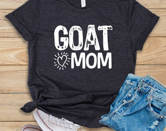 52644f22e Goat Mom / Shirt / Tank Top / Hoodie / Farmer Shirt / Goat Shirt / Goat  Lady / Raising Goats / Pet Goat / Goat Lover / Funny Goat Shirt