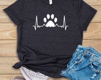8504e57cce783a Paw Heartbeat   Shirt   Tank Top   Hoodie   Veterinarian   Veterinarian  School   Vet School   Veterinarian Gift   Veterinarian Tee   Vet Tee