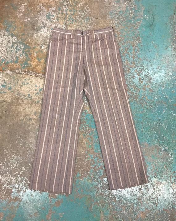 Vintage Levi's Wide Leg Striped Hippie Trousers /