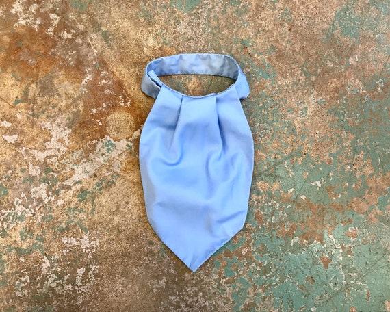 Vintage Baby Blue Pussy Tie / Scarf - Men's Disco