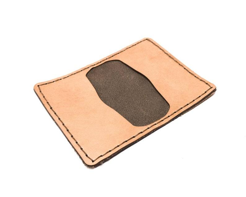 3-Pocket Bi-Fold Leather Wallet Digital PDF Template