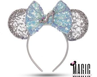 Cinderella Glass Slipper Inspired Ears | Disney Ears | Mickey Ears