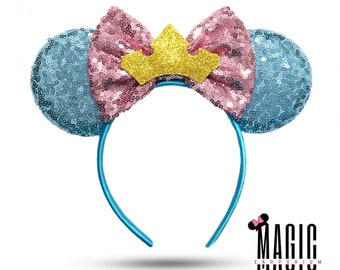 Sleeping Beauty Briar Rose Aurora Inspired Disney Mouse Ears