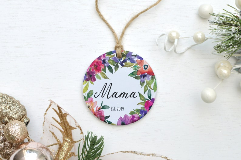 Mama Personalized Mom Gift Best Birthday Present Chic Baby image 0