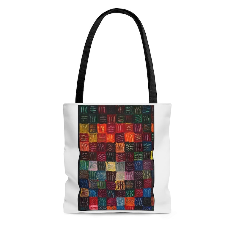 The Modern Coloful Tote Bag travel product recommended by Sukanya Rath on Lifney.
