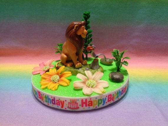 Fabulous Disney The Lion King Simba Birthday Cake Topper Table Etsy Funny Birthday Cards Online Bapapcheapnameinfo