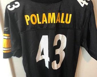 5441302f280 NFL Pittsburgh Steelers Troy Polamalu Jersey