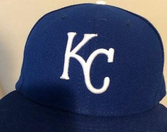 wholesale dealer d8e00 c4f6c Kansas City Royals MLB New Era Fitted Hat