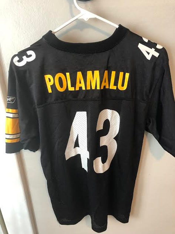 NFL Pittsburgh Steelers Troy Polamalu Jersey  d2bbe8cbc