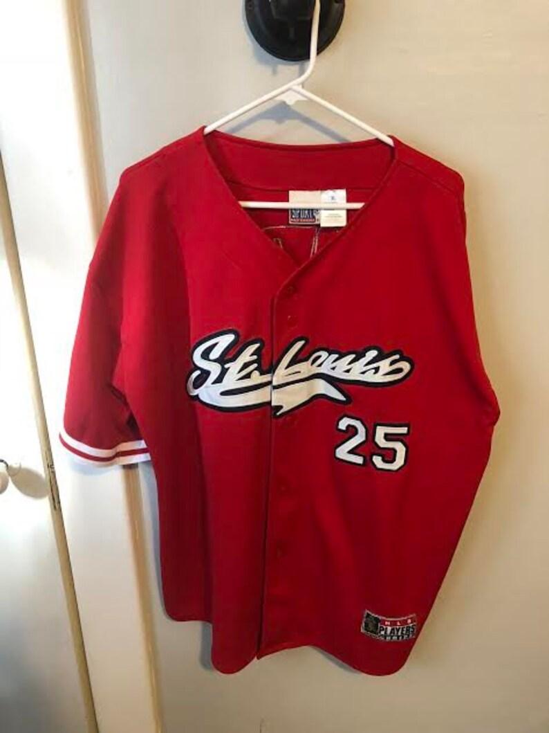 buy popular a26c3 33d63 MLB St. Louis Cardinals Mark McGwire Jersey