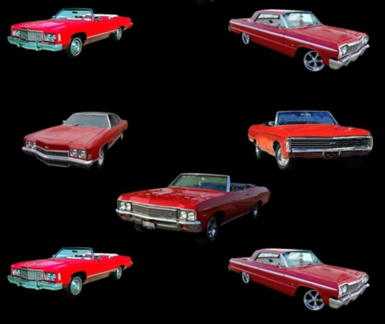 RougeNoir Double Muscle CarChevrolet De MinkyDesigner Avec À Câliner L'arrière Minky Impression Avec Impala Votre Choix Couverture Couleur SGqzUMVp