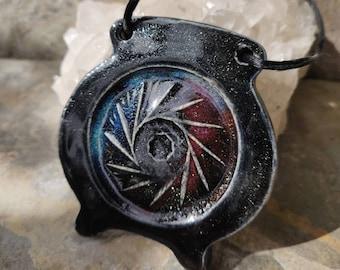 Galaxy Cauldron Ornament