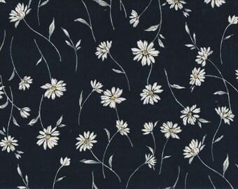 22.90 Eurmeter Japan fabric modern cotton 50cm x 110cm moment Margaret navy Babycord T584e