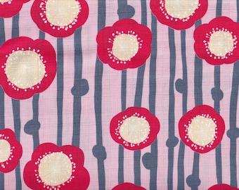 19.90 Eur/meter Traditional Japanese Fabrics Cotton Dobby 50cm x 110cm Ume Large Pink B335b