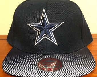 Dallas Cowboys Mitchell and Ness Snapback Hat Vintage Collection c94fb619e0a4