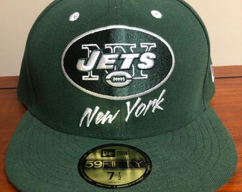 dd808bf9132 New York Jets New Era Fitted Hat Size 7 1 2
