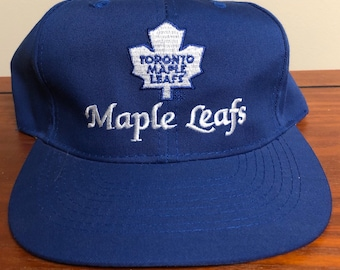 10594281672e32 CCM Toronto Maple Leafs Snapback Hat made by American Needle