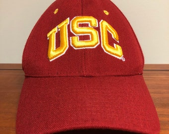 b93574df97675 USC Trojans Fitted Hat size 7 3 8 Zephyr