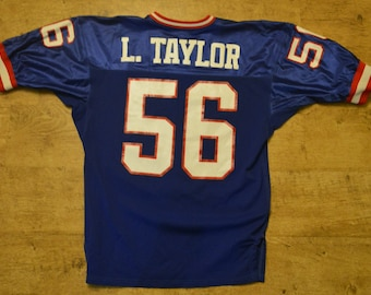 15a7a2e83 Vintage Lawrence Taylor  56 NFL Jersey Men s XL Made by Gerry Cosby in NYC
